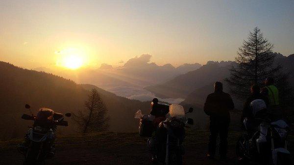 Motorrad Hotel Dolomiten Südtirol
